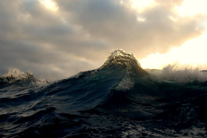 Waves in twilight