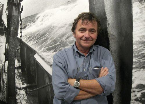 Jean Gaumy, photographer and film-maker specializing in the world's oceans